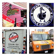 "Four killer food carts in #Vancouver. Part of the first food cart ""pod"" in #yvr…"