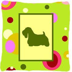 Sealyham Terrier Indoor/Outdoor Throw Pillow
