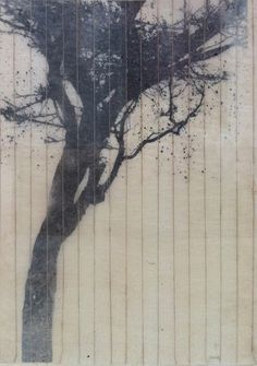 Guillermo Summers, The Wind in the Trees Spanish Painters, Jackson Pollock, Photo Tree, Art Graphique, Art Sketchbook, Cool Drawings, Painting & Drawing, Painted Trees, Contemporary Art