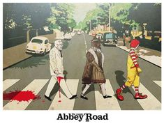The Crusade of Abbey Road Depicts Mascots Marching to Holy War #Pop Culture trendhunter.com