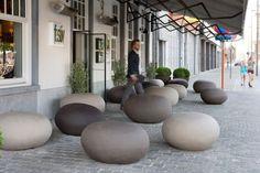 Pebble tavolino ~ Pebble seats benbarrell seating pendeen pebble