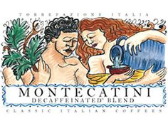 12-oz. Montecatini Blend Decaffeinated Whole Bean Coffee by Torrefazione Italia by Torrefazione Italia at  Cooking.com #holidaycooking