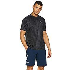 Under Armour Herren Fitness - Sweatshirts Ua Tech Zip Under Armour Herren, Ua, Graphite, Fitness, Tech, Printed, Sweatshirts, Mens Tops, Black