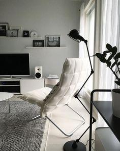 Huonekalujen ja valaisimien muodoilla voi helposti tuoda lisäilmettä sisustuksen tunnelmaan.