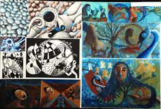 Merit middle Middle, Boards, Painting, Art, Planks, Art Background, Painting Art, Kunst, Paintings