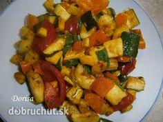 Cuketové soté Kung Pao Chicken, Ratatouille, Fruit Salad, Ham, Potato Salad, Pork, Food And Drink, Potatoes, Vegetables