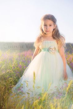 This scrumptious dress is double layered in the same style as our ever popular Rose Princess dress, but with ivory on top and mint underneath, accented with tulle cap sleeves and a mint flower sash! This handmade flower is one of my most favs to date: made in layers of ivory, mint and champagne, it […]