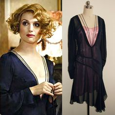 Fantastic Beasts and where to find them/ Blue Dress/ Queenie Goldstein/ Vintage Inspired/ Costume Alison Sudol, Colleen Atwood, 1920s Costume, Beast Costume, Fantastic Beasts And Where, Movie Costumes, Halloween Costumes, 1920s Dress, Historical Costume