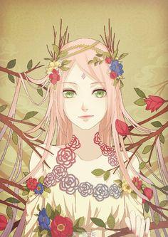 Haruno Sakura - Cherry Blossoms Of Spring