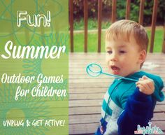 Fun Summer Outdoor Games for Children