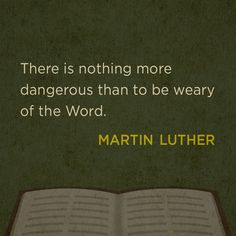 Martin Luther. I wonder what Joy he would get knowing how many versions we have now and in almost every language! <3