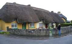 """""""The town of Adare."""" (From: 50 Beautiful Photos of Ireland)"""