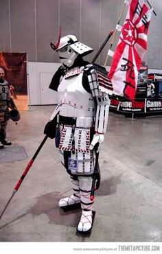 Awesome Samurai Stormtrooper…