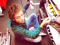 and on the seventh day we race — 015/100 pictures of Valentino Rossi