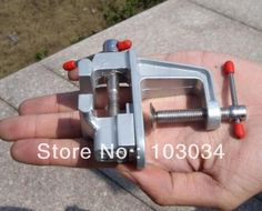 3 pieces $17.50 aluminum alloy hand tool mini table vise multi-functional small metal vise manual tools bench vice,D