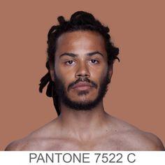 27 Portraits Of The Human Pantone