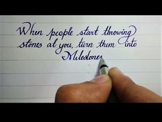 How You Can Improve Your Handwriting – Improve Handwriting Perfect Handwriting, Improve Your Handwriting, Improve Handwriting, Beautiful Handwriting, English Handwriting Styles, Handwriting Examples, English Cursive Writing, Hand Writing, Handwriting Analysis