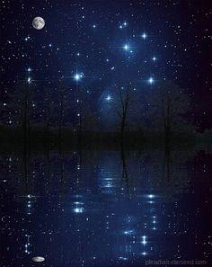 Very beautiful gif Night Scenery, Anime Scenery, Foto Gif, Gifs, Good Night Blessings, Good Night Gif, Moon Pictures, Beautiful Moon, Image Hd