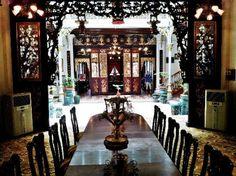 Inside a mansion