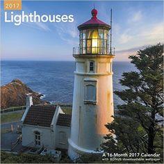 Lighthouses Wall Calendar (2017)