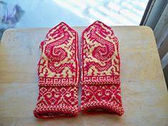 Ravelry: Ming Mittens pattern by Bill Thoms