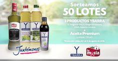 ¡Gana un LOTE de productos Ybarra & La Masía!
