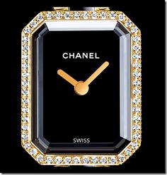 Chanel watch. Reminds me of my sister,