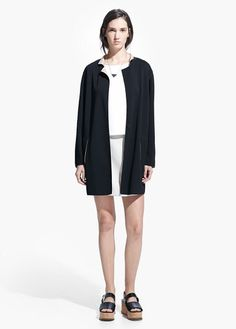 Image of Unstructured Long Jacket