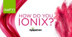 At 2015 New Year Kick Off, we announced this year's product in the spotlight—Ionix® Supreme. Over the last few months, we have told you the many reasons Ionix is a wonderful addition to your daily routine. So, what's the best way to enjoy Ionix? Find out how Isagenix leaders enjoy theirs...And take your pick!