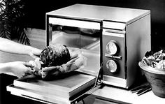 The first counter-top domestic microwave oven was introduced in 1967 by the Amana Corporation (a division of Raytheon). It was smaller, safer and more reliable than earlier models.