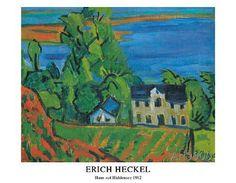 Erich Heckel - Haus auf Hiddensee