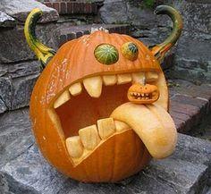 lots of creative pumpkins