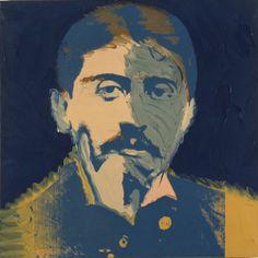 Warhol-Marcel Proust, 1974