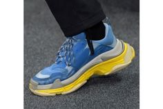 Balenciaga FW17 Continues the Ugly Fashion Sneaker Trend