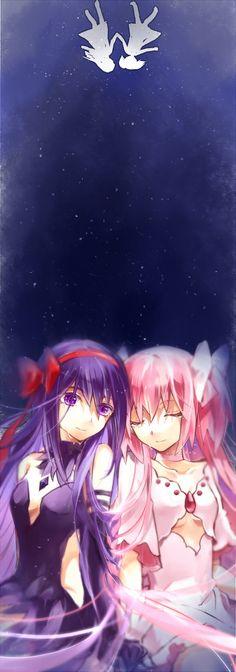 「Friends」/「TG」のイラスト [pixiv] Goddess Madoka and Homura