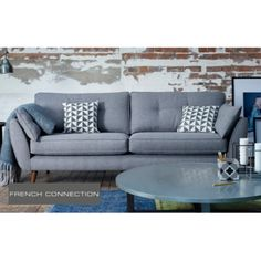 Zinc sofa from DFS French connection,I love it