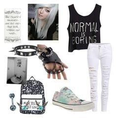 """""""Untitled #183"""" by fashon-crazy-love ❤ liked on Polyvore featuring Trend Cool, Converse and Nintendo"""