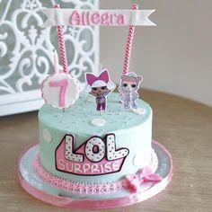 LOL Surprise Birthday Cake Wa 08161966824 – Chef Jonas and foodanddrinks 2019 Doll Birthday Cake, Funny Birthday Cakes, 8th Birthday, Birthday Ideas, Bolo Sofia, Surprise Cake, Surprise Birthday, Lol Doll Cake, Banana Dessert