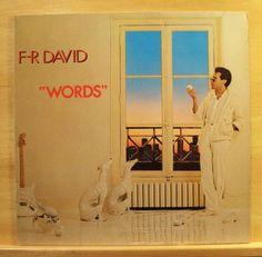 F-R-DAVID-Words-mint-minus-minus-Vinyl-LP-Top-Rare-Italo-Disco-Pop