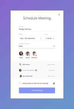 Schedule meeting full: