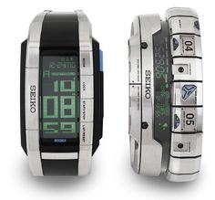Wrist Holo - Seiko - 2001 with Square Enix for Final Fantasy Spirit Within - NEED! | Raddest Men's Fashion Looks On The Internet: http://www.raddestlooks.org