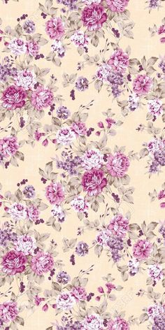 Rose and purple flowers on a beige background. Rose and purple flowers on a beige background. Vintage Flowers Wallpaper, Vintage Floral Backgrounds, Floral Vintage, Flower Backgrounds, Vintage Diy, Flower Wallpaper, Vintage Paper, Wallpaper Backgrounds, Iphone Wallpapers