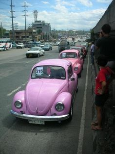 This is from the 70's, but this is my dream car. I got it on my 16th birthday! And it's my favorite color! PINK!