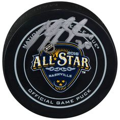 Brandon Saad Columbus Blue Jackets Fanatics Authentic Autographed 2016 NHL All-Star Game Official Game Puck