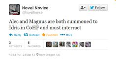 MALEC I just had a mini heart attack. Send a Silent Brother over here.