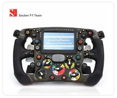 "Sauber F1 Team Mousepad ""Steering Wheel"""