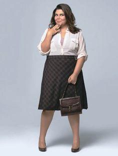 Linda e poderosa, a tendência de moda outono/inverno 2014 para mulheres plus size está maravilhosa, inspire-se:   ...