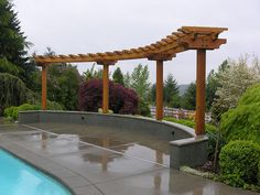44 Awesome Pergola Trellis Ideas For Your Front Yard - Modern