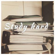 Sleep hard, pray hard, love hard, work hard..