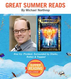 Looking for great summer reads for kids? Here's a recommendation by Michael Northrop! Click through or visit scholastic.com/summer for more. #summerreading